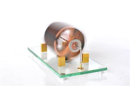 Magnetically Levitated Solar Motor running