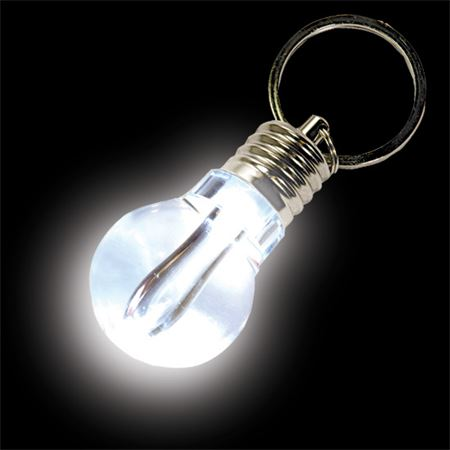 Key ring with light