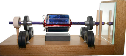 Levitating Hand Built Solar Motor From