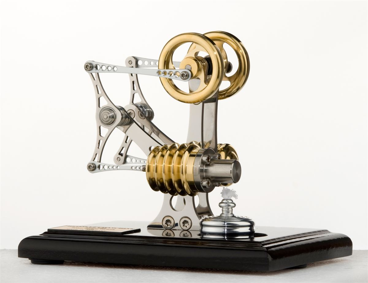 Deluxe Swingarm - Bhm Stirling engine