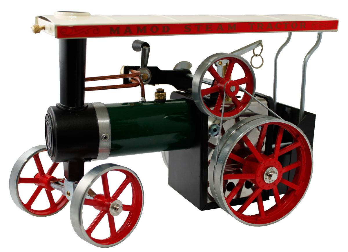Mamod Working Model Steam Traction Engine - From Gyroscope.com
