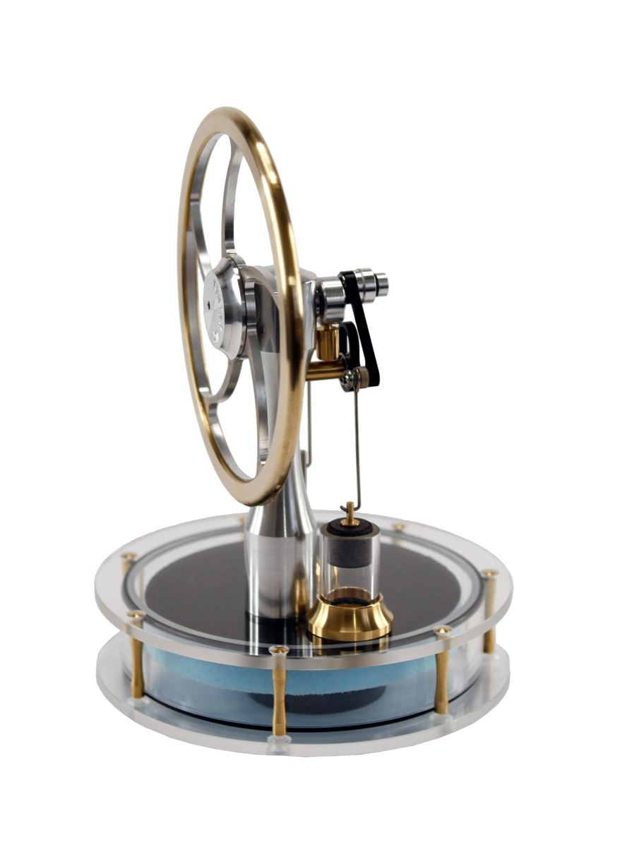Ross Precision Stirling Engine Solar Assembled From Gyroscope Com